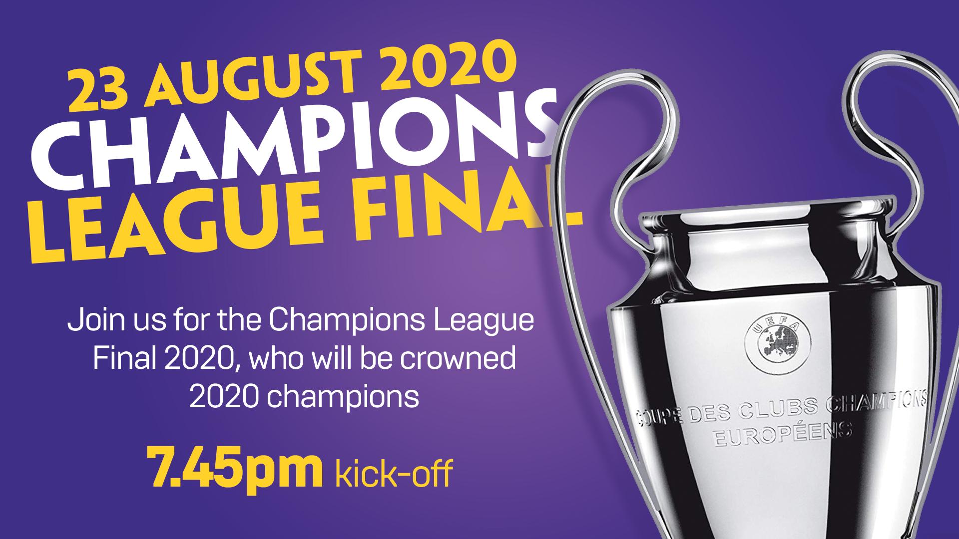 Champions Lge Final